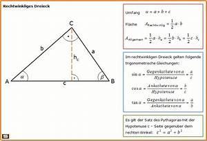 Wärmestrom Berechnen Formel : rechtwinkliges dreieck formel zu fl chenberechnung und trigonmetrische verh ltnisse ~ Themetempest.com Abrechnung