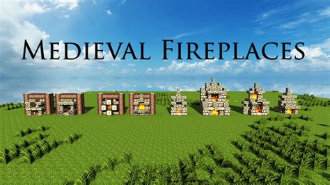Kitchen Ideas For Minecraft - minecraft medieval fireplace designs download youtube
