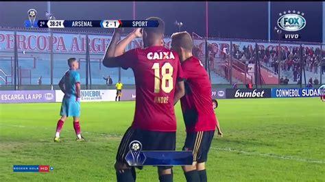 Arsenal de Sarandí 2 x 1 Sport Recife - Copa Sulamericana ...