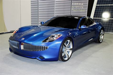fisker karma hybrid car  electronic wallpaper