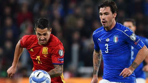 Les deux sélections s'affrontent à wembley, théâtre londonien des trois derniers matchs. L'Italie et l'Espagne se quittent dos à dos (1-1) - Eurosport