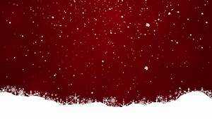 Snow On A Red Background Stock Footage Video 5187422 ...