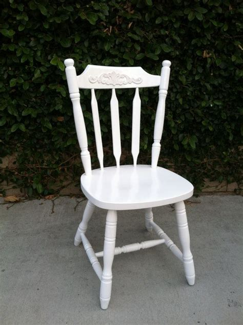 white dining chair shabby chic chair cottage chic
