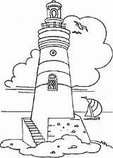 Lighthouse Coloring Boat Coast Printable Guard Sailing Ships Getdrawings Boats Ferry Sailboat Drawing Adults Sketch Colornimbus Transportation Getcolorings Template Colorings sketch template