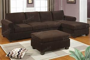 Bobkona sofa set couch sectional sectionals w chaise for Chocolate sectional sofa set with chaise