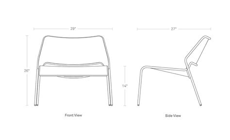 mesh lounge chair hivemodern