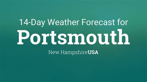 portsmouth  hampshire usa  day weather forecast