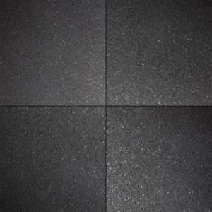 Buy Premium Black 12x12 Honed| Granite Tile - Wallandtile.com
