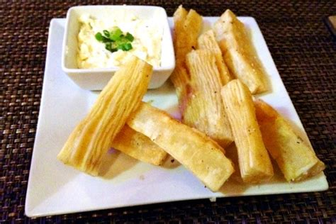 cuisine food photo yuca frita from gustazo cuban cafe belmont ma