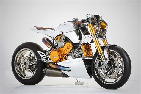 ducati motorcycle polished panigale ortolani customs ducati 1199s return
