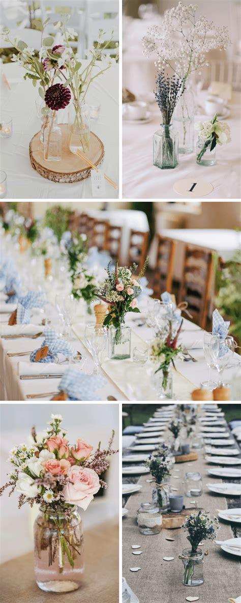 Minimalistische Hochzeitstischdekohochzeitskiste (4