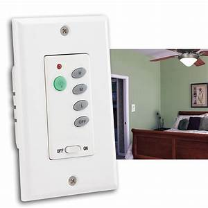 Westinghouse 7787500 Wireless Ceiling Fan And Light Wall