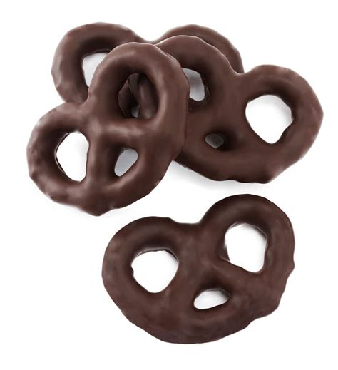 Dark Chocolate Covered Pretzels Flipz