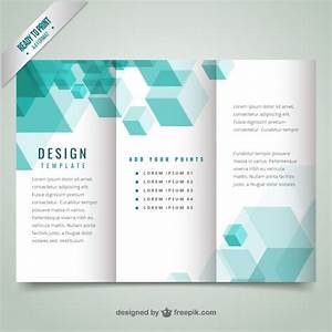 geometrical modern brochure template vector premium download With free online templates for brochures