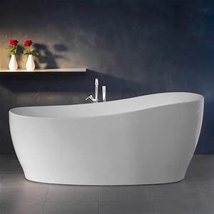 Freistehende Badewanne Schwarz : freistehende badewanne aviva 180 cm x 85 cm wei kaufen bei obi ~ Sanjose-hotels-ca.com Haus und Dekorationen