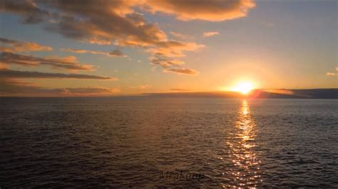 2 Hours Most Beautiful Ocean Sunset Fullhd With Natural