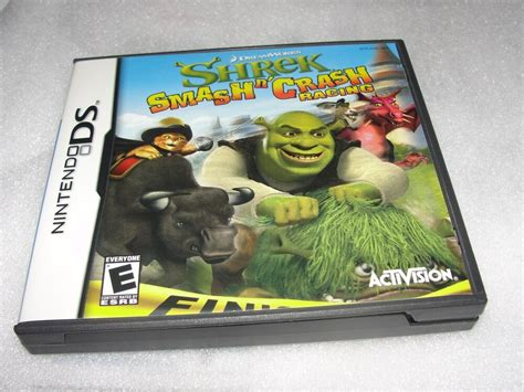 Nintendo Ds Shrek Smash N' Crash Racing 47875752856