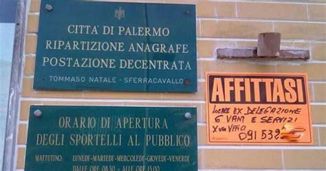 Comune Di Agrigento Ufficio Anagrafe by L Quot Affittasi Quot All Ufficio Comunale La Replica Quot La