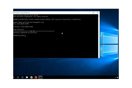 microsoft framework 3.5 download windows 10