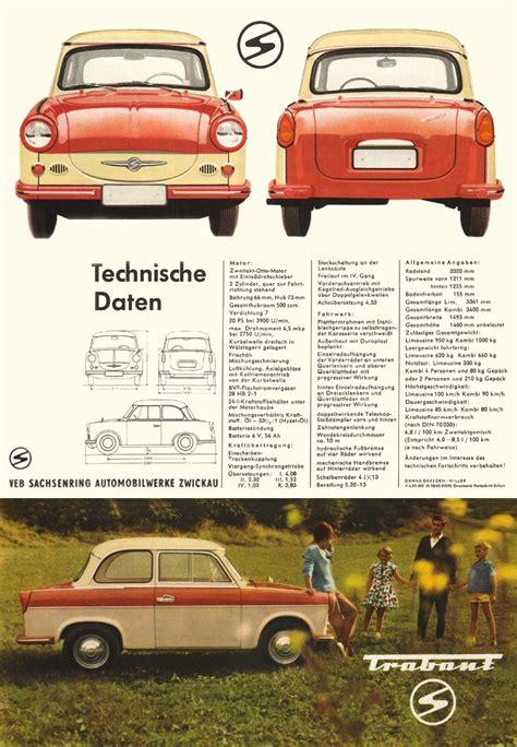 1962 - Trabant Limousine und Kombi