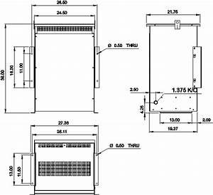 300 Kva 600 Volt To 440 Volt Autotransformer Rc300j