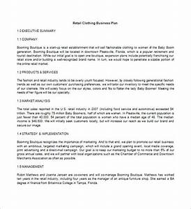 business plan template 97 free word excel pdf psd With how to write a business plan for a clothing line