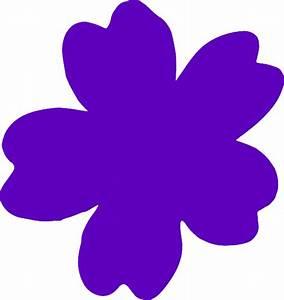 Purple Flowers Clip Art - ClipArt Best