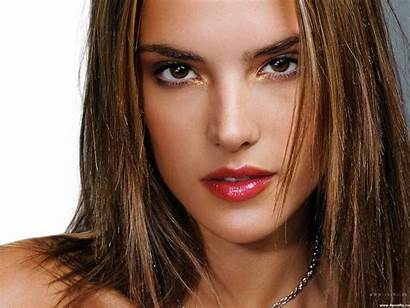 Faces Wallpapers Woman Face Amazing Ambrosio Alessandra