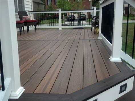 great evergrain decking  deck inspiration brown