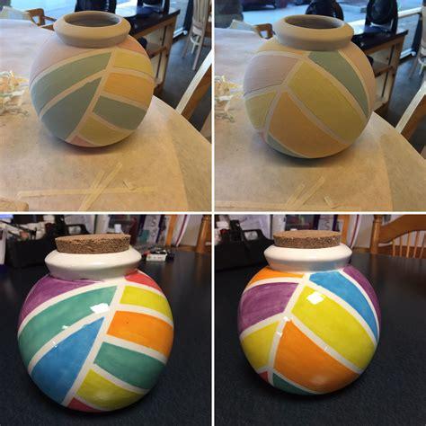 color me mine ridgewood vacation savings fund jar color me mine ceramics