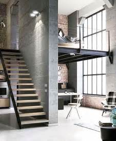 home wall design interior best 25 loft living rooms ideas on
