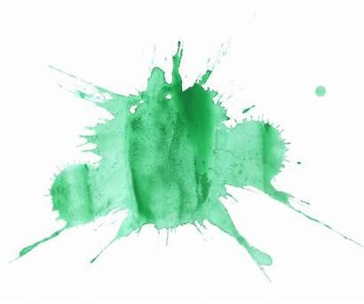 Splatter Paint Watercolor Transparent Splats Clipart Background