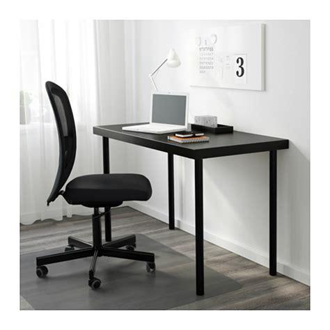 tornliden table top black brown 120x60 cm ikea