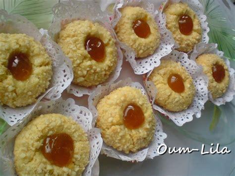 cuisine samira gateaux m 39 chewek à la cacahuette et confiture recettes algériennes