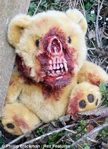 Zombie Teddy Bear