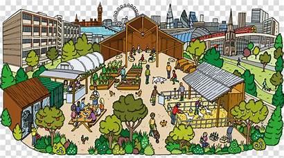 Urban Area Clipart Clip Fsu Cartoon Rural