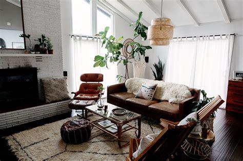 Modern + Bohemian-inspired Family Sanctuary