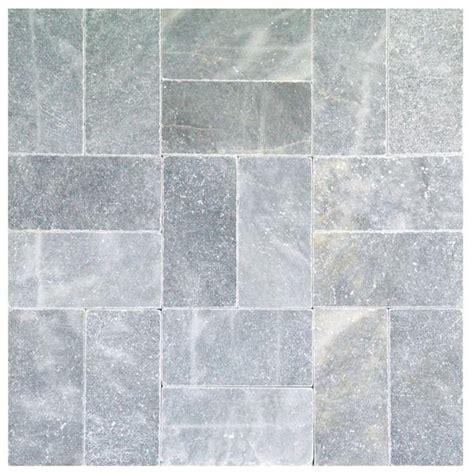 blue travertine tile sky blue tumbled marble pavers 6x12 natural stone pavers