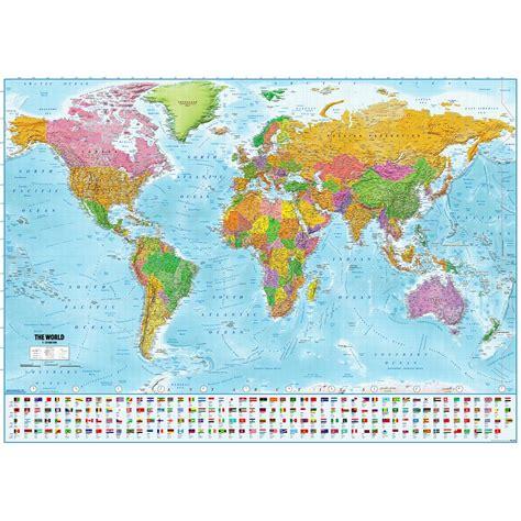 weltkarte xxl poster flaggen  maps  minutes xxl poster jetzt im shop bestellen close