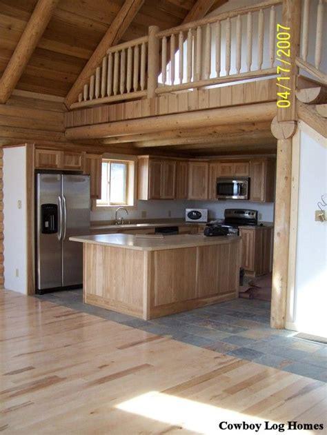 small cabin homes  lofts log cabin loft  kitchen log home kitchen  open loft  log