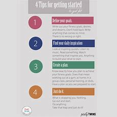 4 Tips To Getting Started To Get Fit