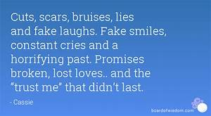 QUOTES ABOUT BROKEN TRUST AND PROMISES image quotes at ...