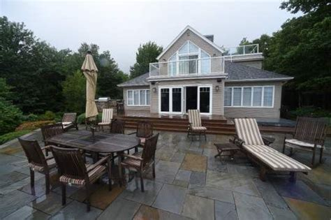 sidney crosby s back patio is shown wednesday aug 12
