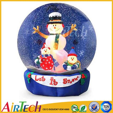 hot sale snow globe christmas inflatable inflatable