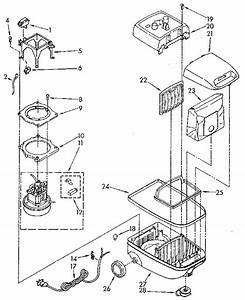 Kenmore 1162003590 Canister Vacuum Parts