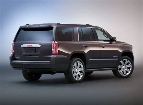 2019 Gmc Yukon Xl Denali Features And Concept Car
