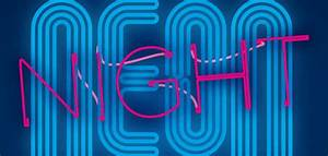 January 2016 Fourth Friday for Kids Neon Night