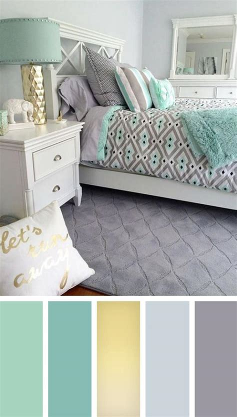 Bedroom Color Schemes With Teal by 4 Bedroom Color Schemes To Create A Mood Of Restfulness