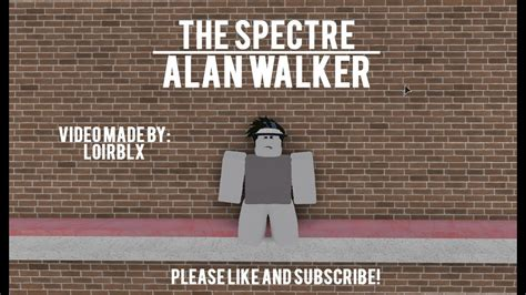 The Spectre [roblox Music Video]
