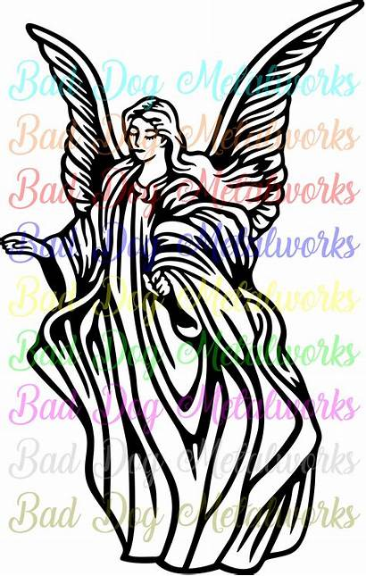 Angel Angels Guardian Clipart Svg Vector Dxf